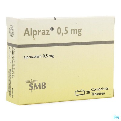 Alpraz Comp 28x0,5mg
