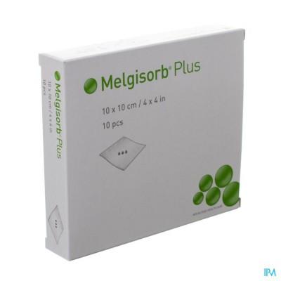 Melgisorb Plus Kp Ster 10x10cm 10 252200