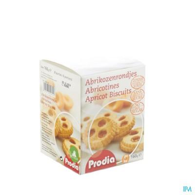 Prodia Abrikozenrondjes 160g (8) 5614