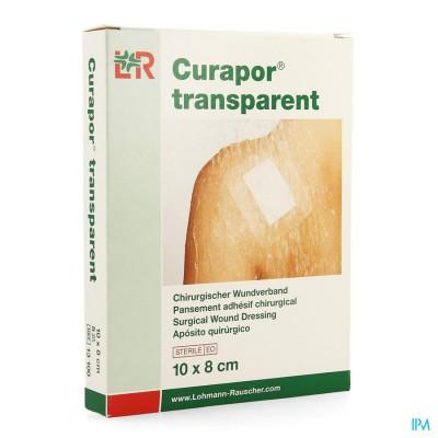 Curapor Transparant Steriel 10cmx 8cm 5 13100