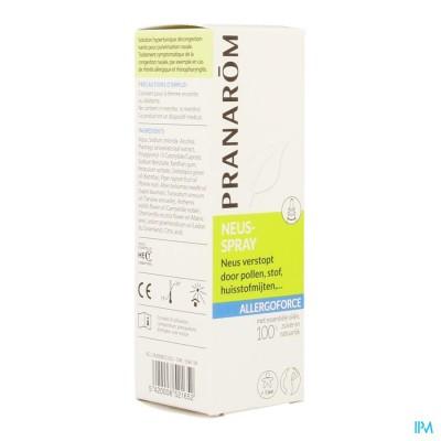 Allergoforce Neusspray Ess Olie Nf 15ml