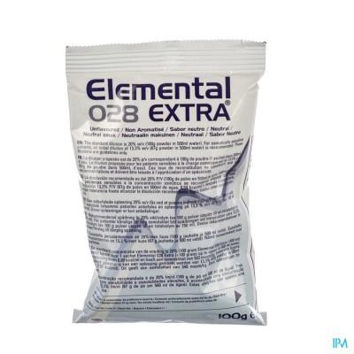 Elemental 028 Extra Neutraal Zakje 10x100g