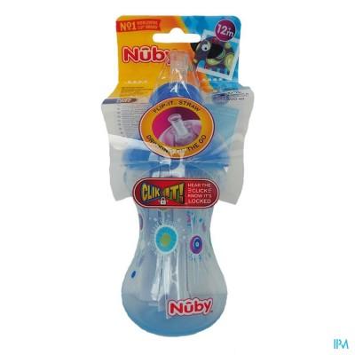 Nûby Designer Series Flip-It™ Antilekbeker – 300ml - 12m+