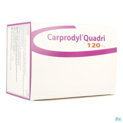 Carprodyl Quadri 120mg Comp 120