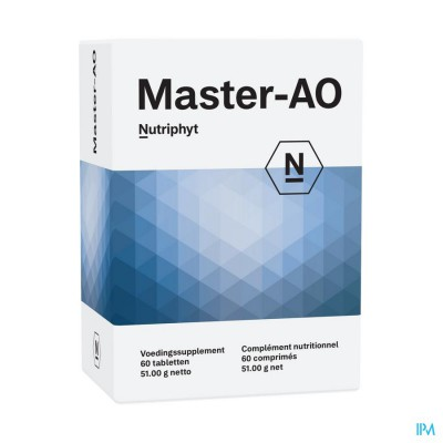 Master-ao 60 TAB 6x10 BLISTERS