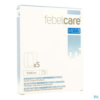 Febelcare Med3 Verb.zelfkl Ster.wtp 9,5x 8,5cm 5