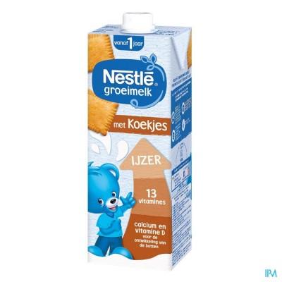 Nestlé Groeimelk 1+ Koekjes1L