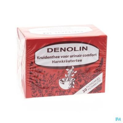 Denolin Thee Nier Filt Zakjes 20