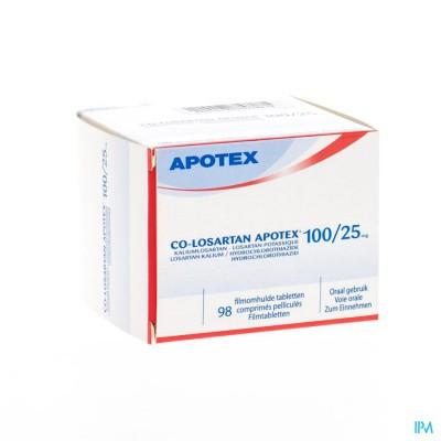 Co Losartan Apotex 100mg/25mg Filmomh Tabl 98