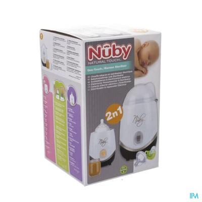 Nûby 2-in-1 flessenwarmer en sterilisator