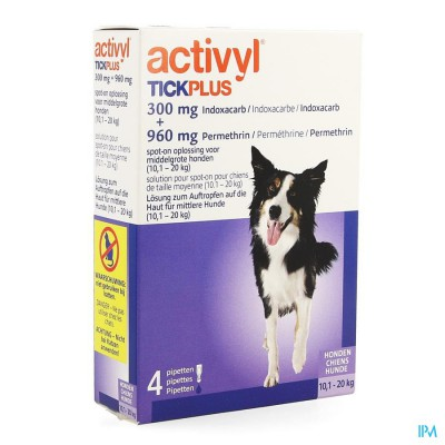 Activyl Tick Plus Opl. Spot-on 4x2ml