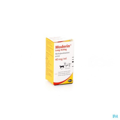 Moderin La 5ml 40mg/ml