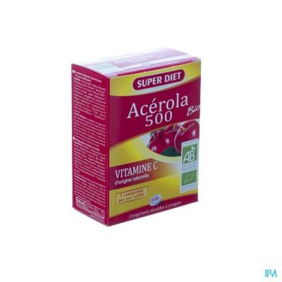 Super Diet Acerola 500 Bio Comp 24