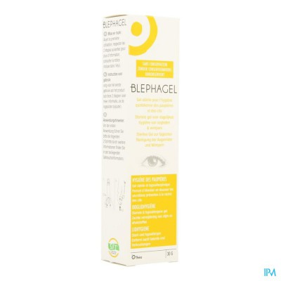 Blephagel Verzorging Ooglid-wimpers 30g