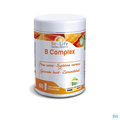 B Complex Vitamin Be Life Nf Caps 60