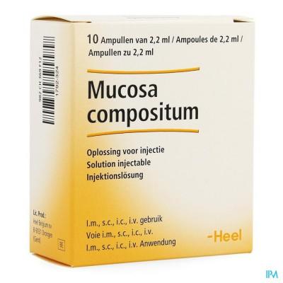 Mucosa Compositum Ii Amp 10x2,2ml Heel