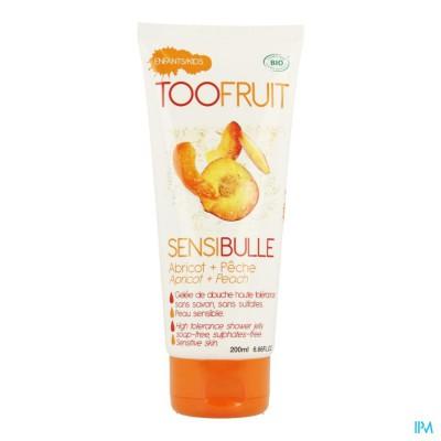 Too Fruit Sensibulle Perzik-abrik.douche Tbe 200ml