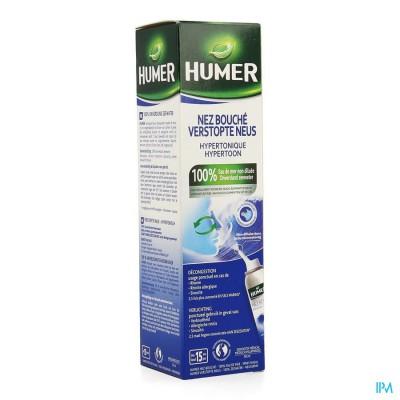 Humer Spray Hypertonisch Volw 50ml