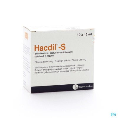 Hacdil-s 10x 15ml Ud Bottelpack