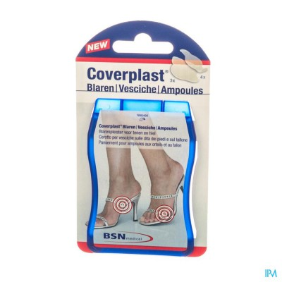 Coverplast Blister Hydrocol. 17x59mm 4 + 35x61mm 3