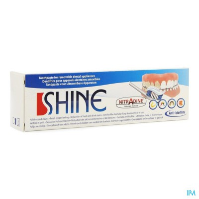 Nitradine Shine Tandpasta 45g