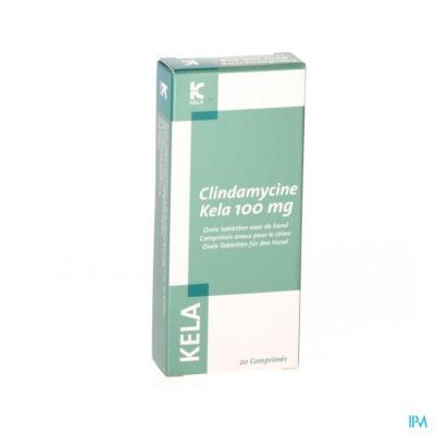 Clindamycine Kela 100mg Orale Tabl Voor Honden 20