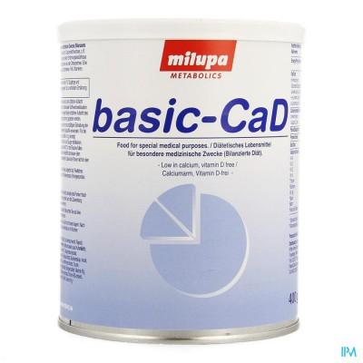 Basic-cad Milupa 400g