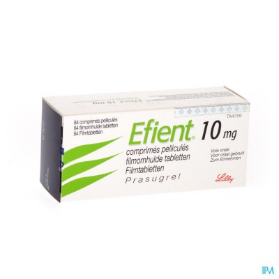 Efient Comp Pell 84 X 10mg