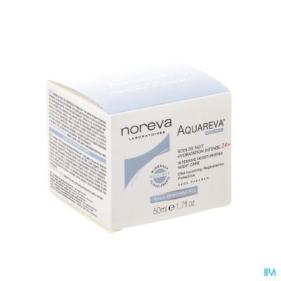Aquareva Verzorging Nacht Hydra Intens 24u 50ml