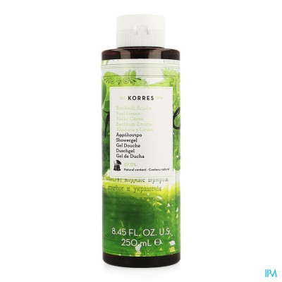 Korres Kb Douchegel Basilicum Citroen 250ml