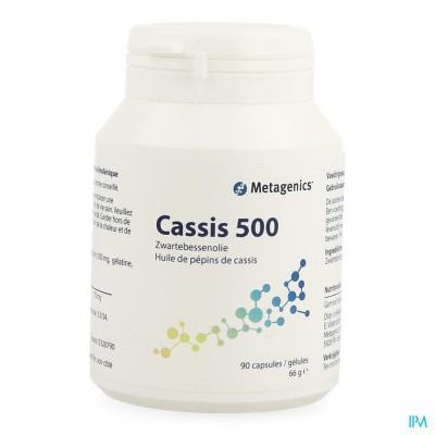Cassis 500 Pot Tabl 90 19749 Metagenics