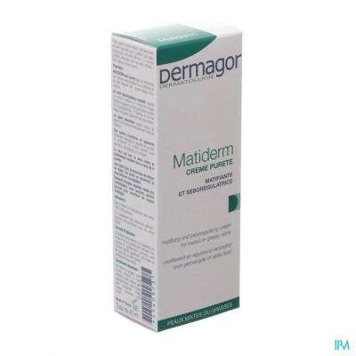 Dermagor Matiderm Reinigend Verzorging Creme 40ml