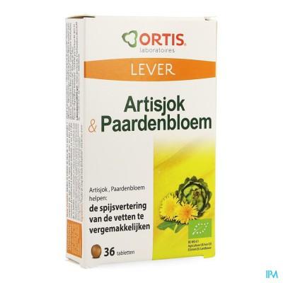 Ortis Artisjok-paardebloem Bio Comp 2x18