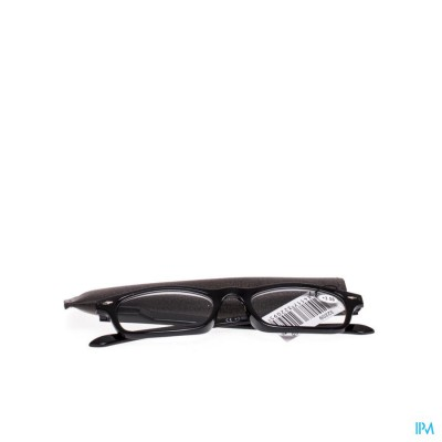 Clipyreader Bril +3.50 Zwart