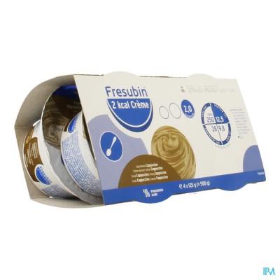 Fresubin 2kcal Creme Cappuccino Pot 4x125g