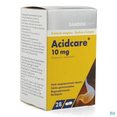 Acidcare 10mg Sandoz Caps Maagsapres 28 X 10mg