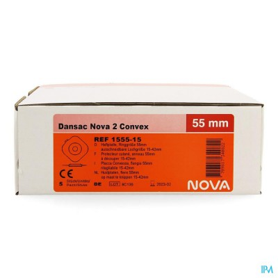 Dansac Nova 2 Convex Platen 15-42mm 5 1555-15