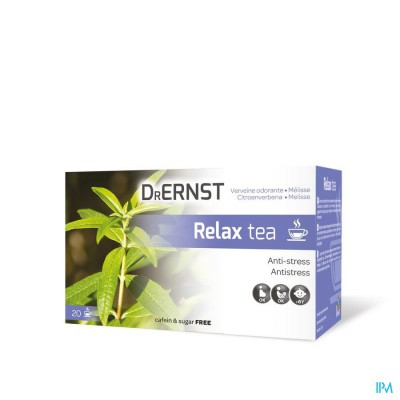 Dr Ernst Relax tea 20 Inf