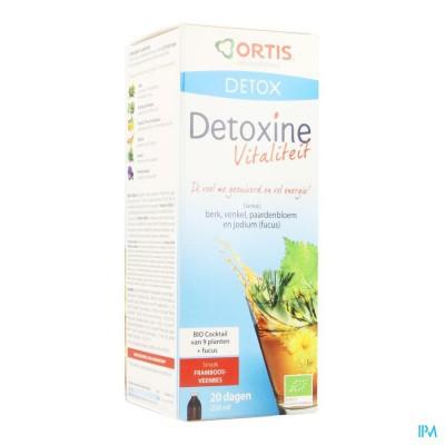 Ortis Detoxine Vitalite Framb.veenbes Fuc.bio250ml