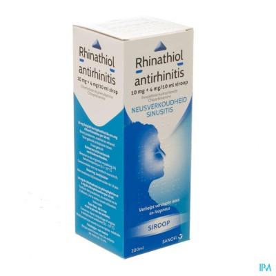 Rhinathiol Antirhinitis Sirop 200ml