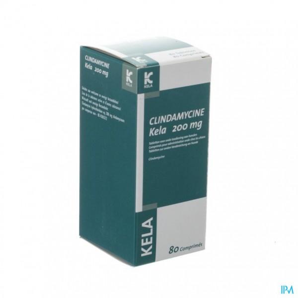 Clindamycine Kela 200mg Tabl 80 X 200mg