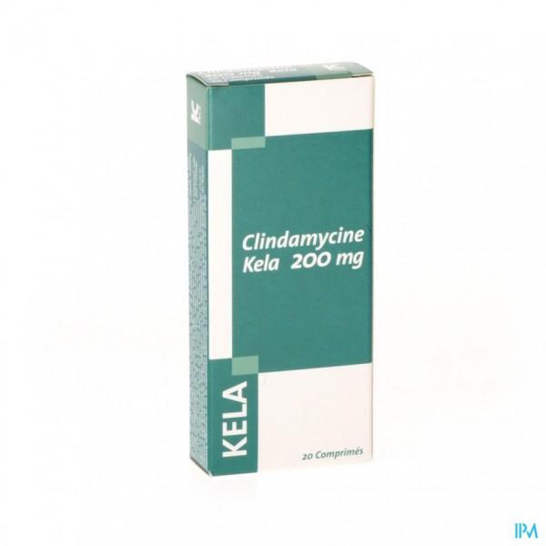 Clindamycine Kela 200mg Tabl 20 X 200mg