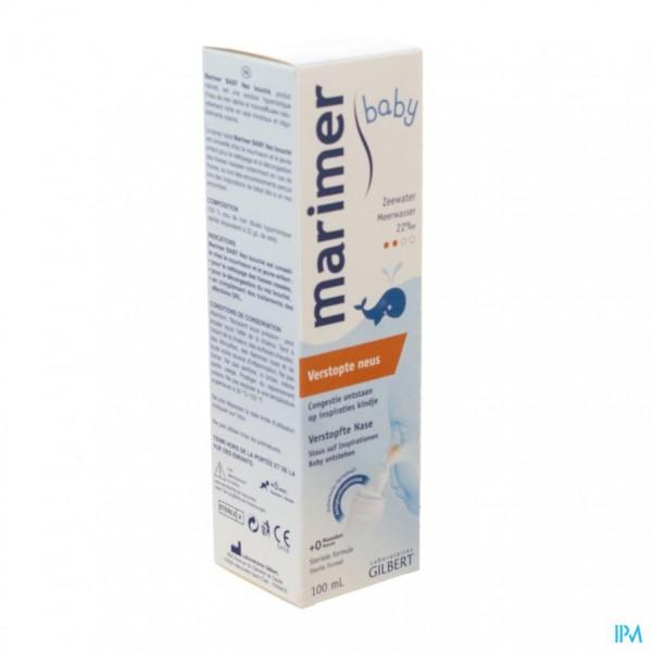 Marimer Baby Hypertonisch Zeewater Spray 100ml