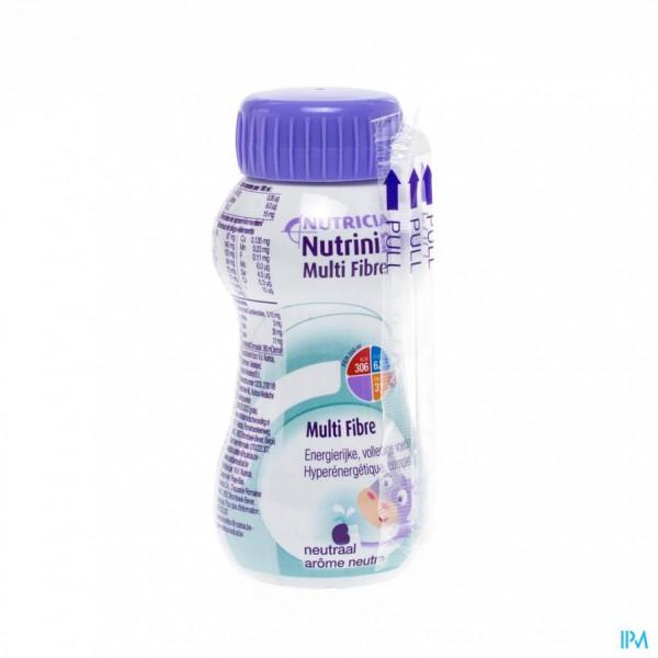 Nutrinidrink Multi Fibre Neutraal Fl 200ml