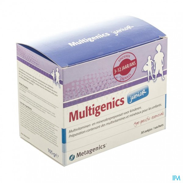 Multigenics Junior Pdr Zakje 30 7282 Metagenics