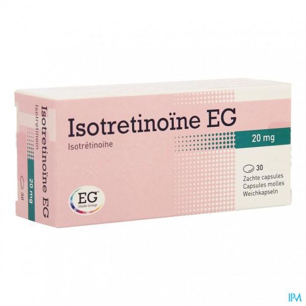 Isotretinoine Eg 20mg Caps 30 X 20mg | Apotheek Monnens